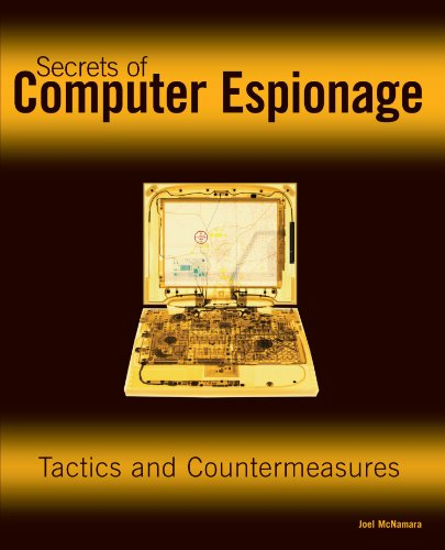 Secrets of Computer Espionage Tactics and Countermeasures  2003 edition cover