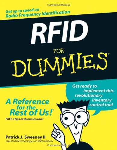 RFID for Dummies   2005 edition cover