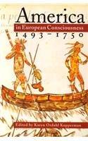 America in European Consciousness, 1493-1750   1995 edition cover