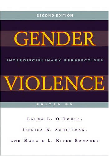 Gender Violence Interdisciplinary Perspectives 2nd 2007 edition cover