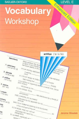 Vocabulary Workshop : Level E, Enhanced Edition, Gr. 10 1st 1996 edition cover