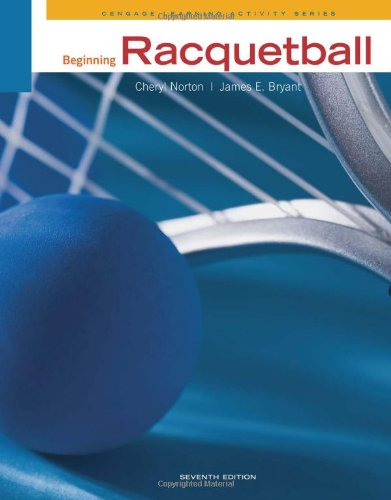 Beginning Racquetball  7th 2012 edition cover