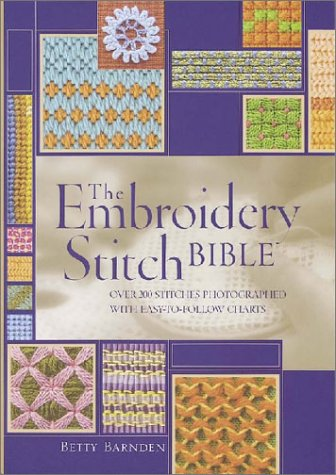 Embroidery Stitch Bible  2nd 2003 edition cover