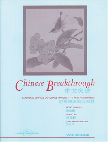 Chinese Breakthrough : Learning Chinese Through TV and Newspapers N/A edition cover