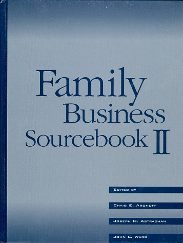Family Business Sourcebook II 2nd 1996 (Revised) 9780965101103 Front Cover