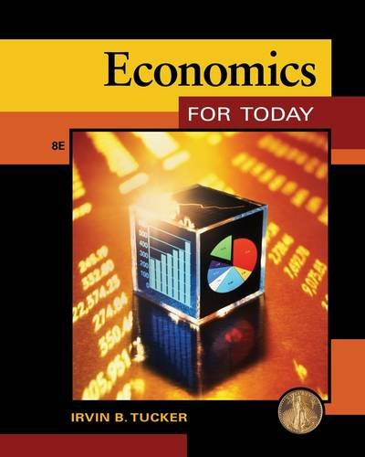 Economics for Today  8th 2014 edition cover
