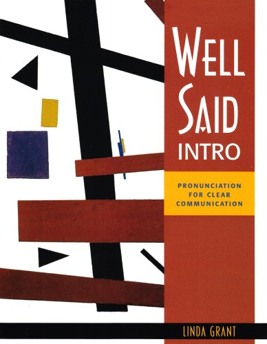 Well Said Intro Pronunciation for Clear Communication  2007 edition cover