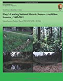 Ebey's Landing National Historic Reserve Amphibian Inventory 2002-2003  N/A 9781492835103 Front Cover
