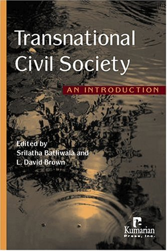 Transnational Civil Society An Introduction  2006 edition cover