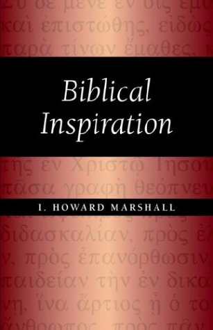 Biblical Inspiration 1st 2004 edition cover