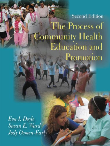 Process of Community Health Education and Promotion  2nd 2009 edition cover