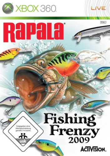 Rapala Fishing Frenzy 2009 Xbox 360 artwork