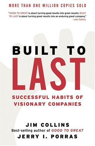 Built to Last Successful Habits of Visionary Companies Revised edition cover