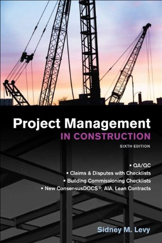 Project Management in Construction  6th 2012 edition cover