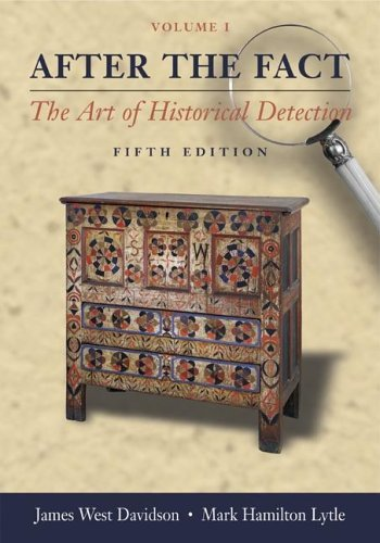 After the Fact With Primary Source Investigator 5th 2005 edition cover