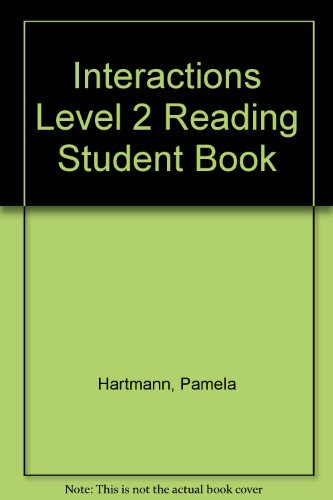 Interactions Level 2 Reading Student Book  6th edition cover
