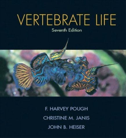Vertebrate Life  7th 2005 (Revised) 9780131453104 Front Cover