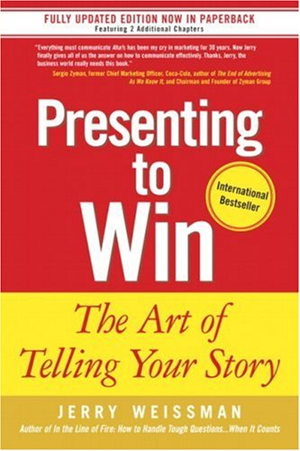 Presenting to Win The Art of Telling Your Story  2006 edition cover