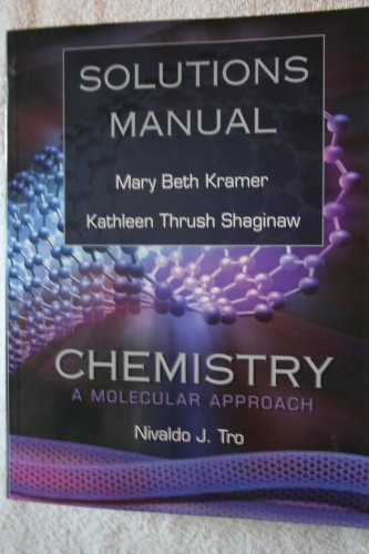 CHEMISTRY:MOLECULAR...-SOLN.MA N/A 9780136151104 Front Cover