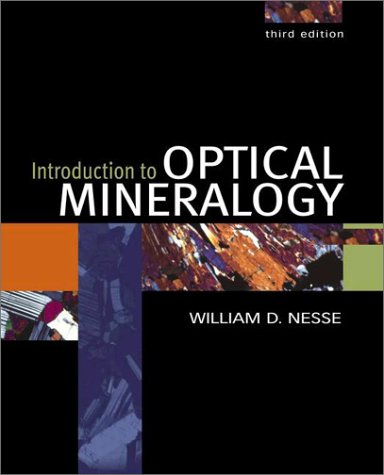Introduction to Optical Mineralogy  3rd 2003 (Revised) edition cover