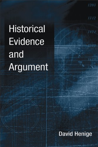 Historical Evidence and Argument   2006 edition cover