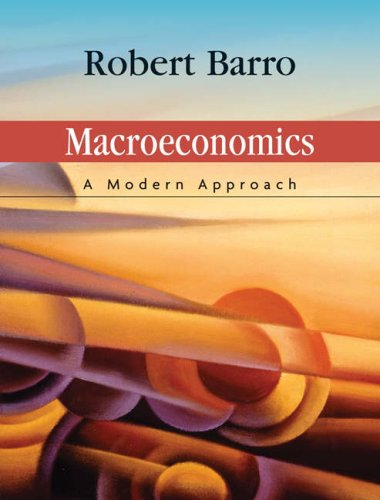 Macroeconomics A Modern Approach  2008 edition cover