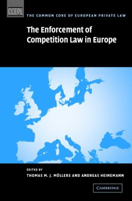 Enforcement of Competition Law in Europe   2007 9780521881104 Front Cover