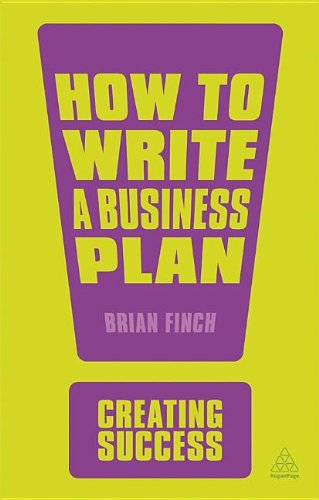 How to Write a Business Plan  4th 2013 9780749467104 Front Cover