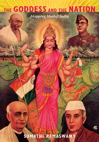 Goddess and the Nation Mapping Mother India  2010 edition cover