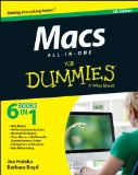 Macs All-in-One for Dummies�  4th 2014 edition cover