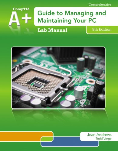 A+ Guide to Managing and Maintaining Your PC  8th 2014 edition cover