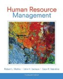 Human Resource Management:   2013 9781133953104 Front Cover