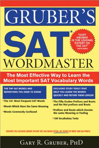SAT Word Master The Most Effective Way to Learn the Most Important SAT Vocabulary Words  2009 9781402220104 Front Cover