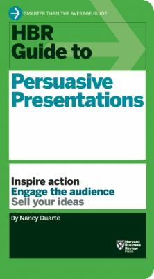 HBR Guide to Persuasive Presentations   2012 edition cover