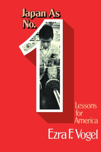 Japan As Number One Lessons for America N/A edition cover