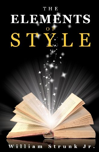 ELEMENTS OF STYLE              N/A edition cover
