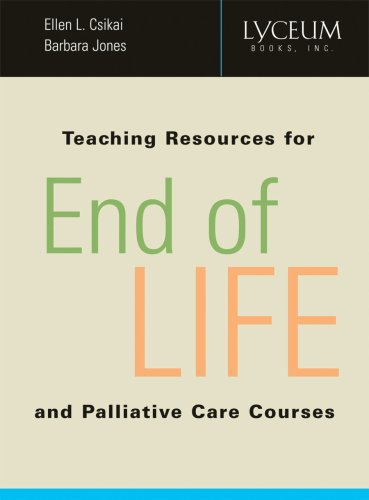 Teaching Resources for End-of-Life and Palliative Care Courses  2007 edition cover