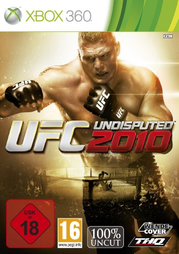 UFC Undisputed 2010 Xbox 360 artwork