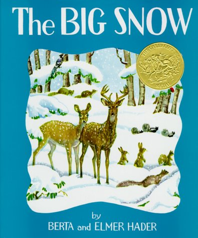Big Snow   1967 9780027379105 Front Cover