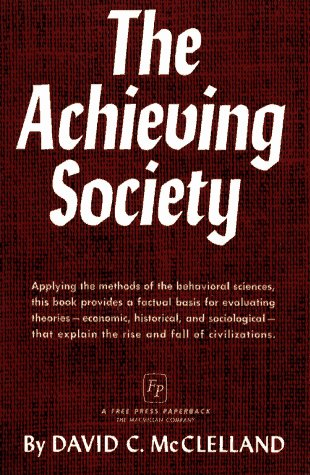 Achieving Society   1967 9780029205105 Front Cover