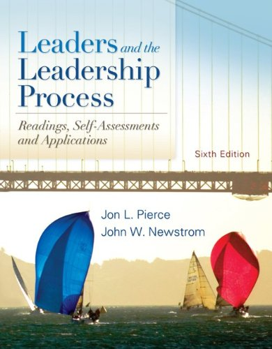 Leaders and the Leadership Process  6th 2011 edition cover
