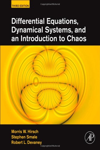 Differential Equations, Dynamical Systems, and an Introduction to Chaos  3rd 2012 edition cover