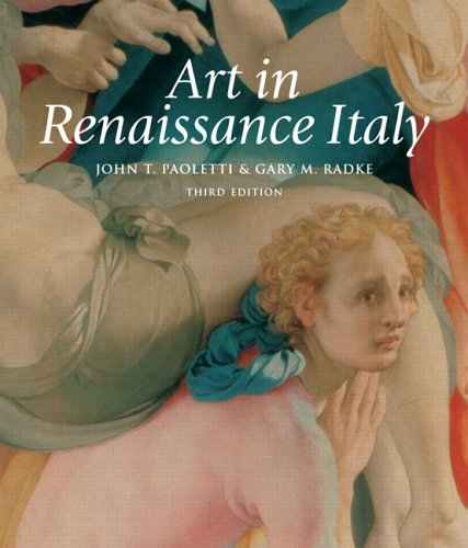Art in Renaissance Italy  3rd 2006 (Revised) edition cover