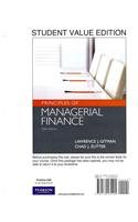 Principles of Managerial Finance, Student Value Edition  13th 2012 9780132165105 Front Cover
