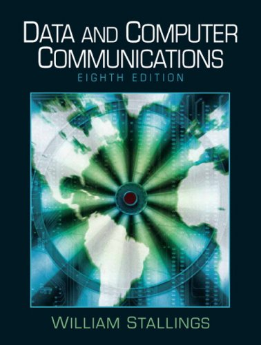 Data and Computer Communications  8th 2007 (Revised) edition cover