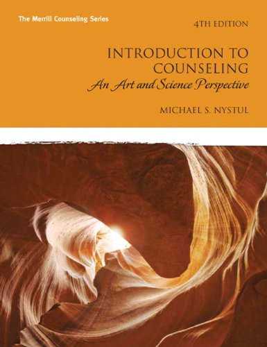 Introduction to Counseling An Art and Science Perspective 4th 2011 edition cover