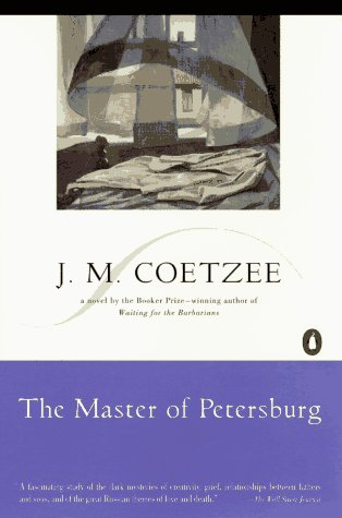 Master of Petersburg A Novel Reprint edition cover