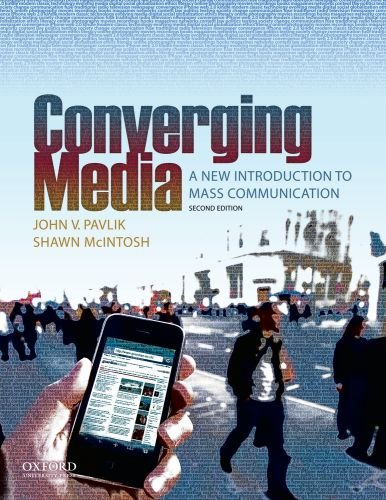 Converging Media A New Introduction to Mass Communication 2nd 2010 edition cover