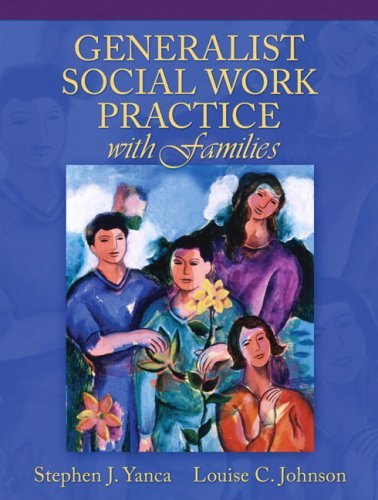 Generalist Social Work Practice with Families   2008 edition cover