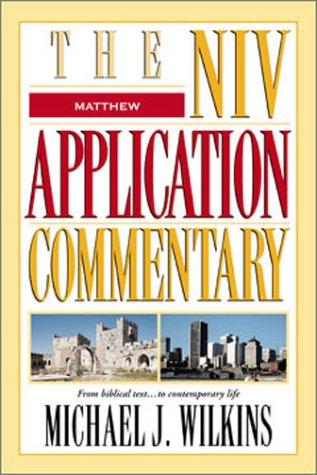 Matthew   2004 edition cover